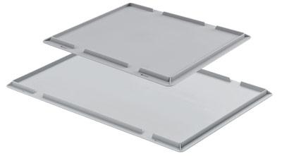 Aluminiumkisten, 605090 Auflagedeckel Aluboxen